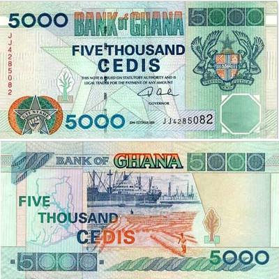 Currency Of Ghana Ghanaian Cedi Mataf