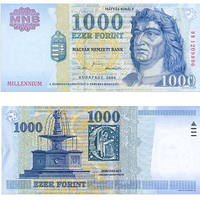 1000 Hungarian forints