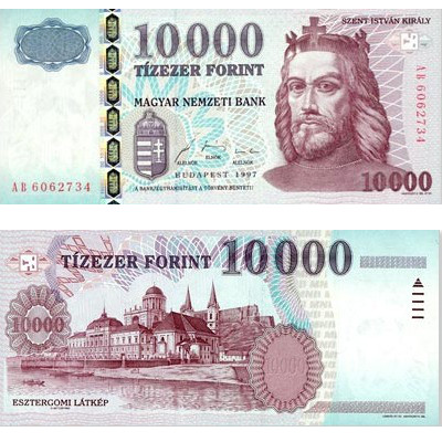 10000 Hungarian forints