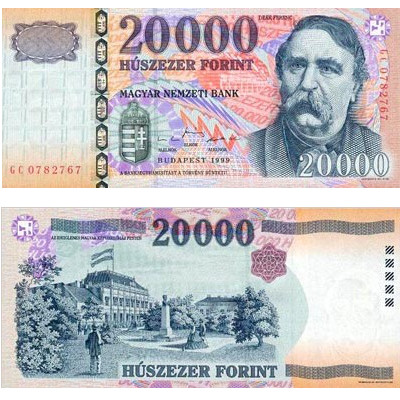 20000 Hungarian forints