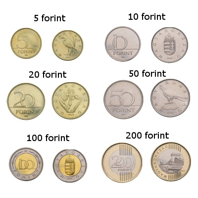 Hungarian forints