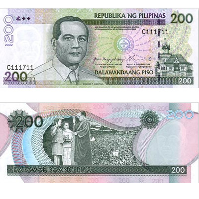 200 filipinskih peza